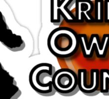 Krillin Owned Count(Dragon Ball Z Abridged) Sticker