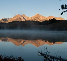Sunrise at Redfish Lake2 by Idahosd