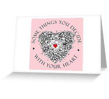 Tee Scribbler Front hide Greeting Card