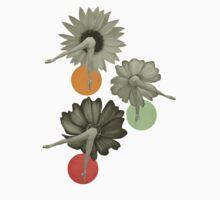 Flower Girls One Piece - Short Sleeve