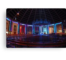 Inside the Wigwam! Liverpool Metropolitain Cathedral Canvas Print