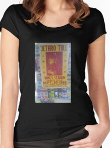 Jethro tull tour  Women's Fitted Scoop T-Shirt