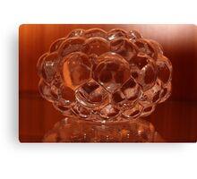 Glass sculpture Canvas Print
