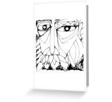 gallo self portrait Greeting Card