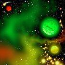Space III - Rasta Sector by Gary Goza II