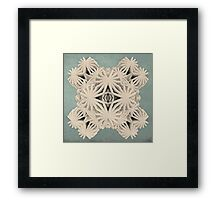 Ancient Calaabachti Filigrane Framed Print