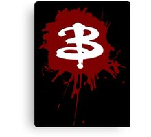 Buffy The Vampire Slayer 'B' Canvas Print