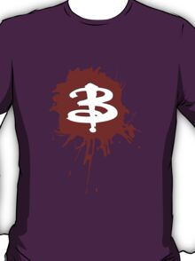 Buffy The Vampire Slayer 'B' T-Shirt