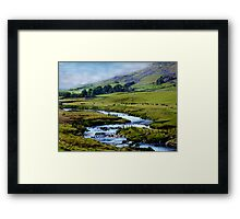 A View of a Dale Framed Print