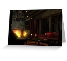 Living room dream Greeting Card