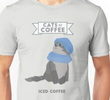 Cats as Coffee: Iced Coffee Unisex T-Shirt
