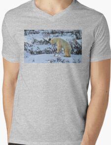 Yoga Bear start standing Mens V-Neck T-Shirt