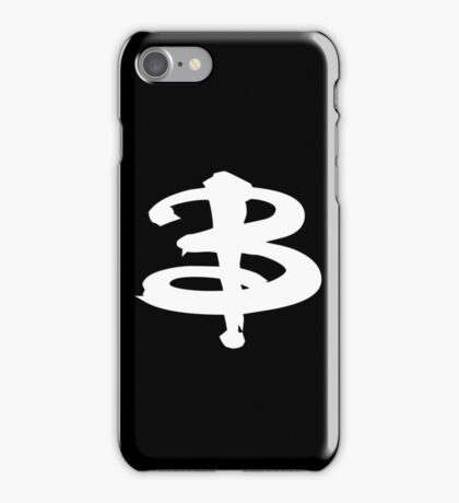 Buffy The Vampire Slayer 'B' v2.0 iPhone Case/Skin