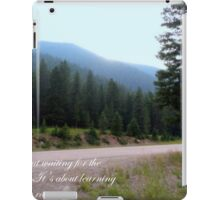 Beautiful Scenery With Quote iPad Case/Skin
