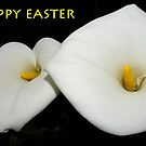 2 lilies happy easter card by dedmanshootn