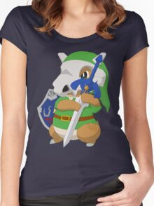 Cubone's cosplay Women's Fitted Scoop T-Shirt