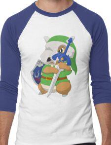 Cubone's cosplay Men's Baseball ¾ T-Shirt