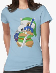 Cubone's cosplay Womens Fitted T-Shirt