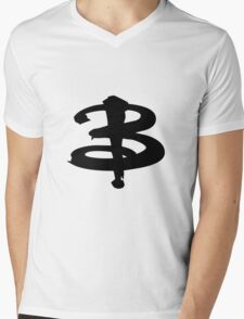 Buffy The Vampire Slayer 'B' v3.0 Mens V-Neck T-Shirt