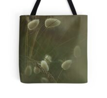 rabbit tails and grasses..... Tote Bag