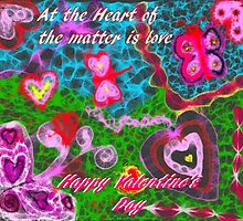 At the Heart of the Matter is Love (Scribbler) by Charldia