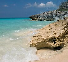 Crashing Waves, Rose Island, Bahamas by Shane Pinder