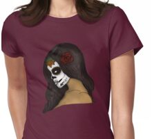 The Day Of The Dead Girl (2) Womens Fitted T-Shirt
