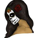 The Day Of The Dead Girl (2) by Adamzworld