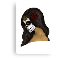 The Day Of The Dead Girl (2) Canvas Print