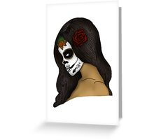 The Day Of The Dead Girl (2) Greeting Card
