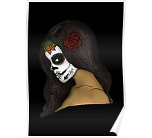 The Day Of The Dead Girl Poster