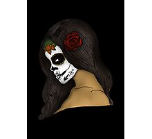 The Day Of The Dead Girl Photographic Print