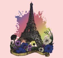 Eiffel Tower Kids Tee