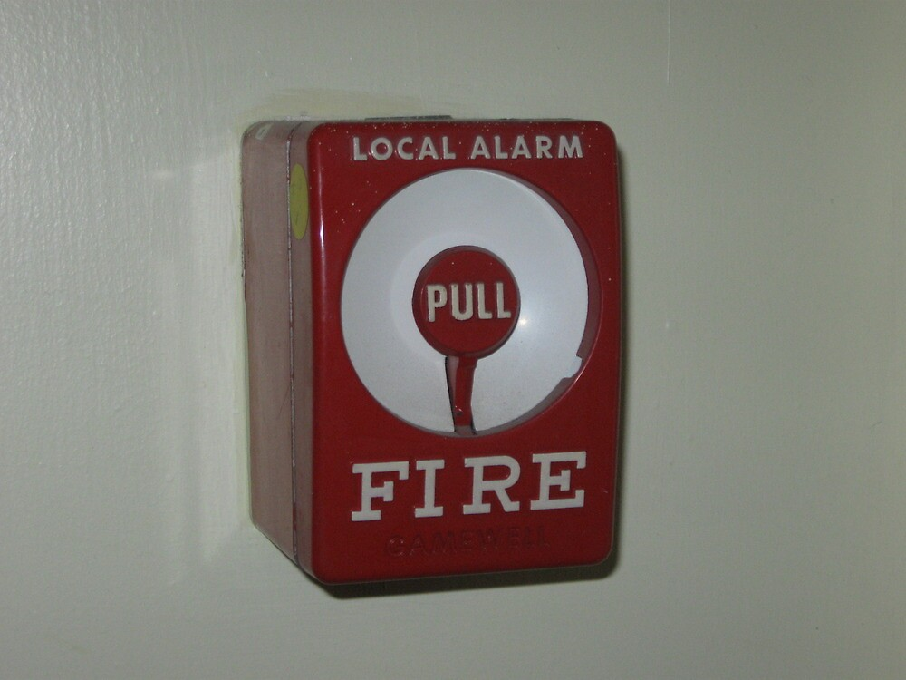 Quot local alarm manual regular pull station for fire bell