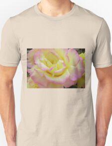 Bi-coloured Rose T-Shirt