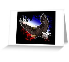 Bald Eagle - Red, White & Blue (2) Greeting Card