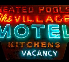 The Village Motel by CGPerry