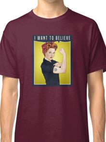 Scully the riveter Classic T-Shirt