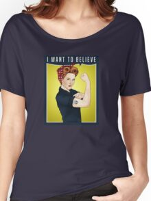 Scully the riveter Women's Relaxed Fit T-Shirt