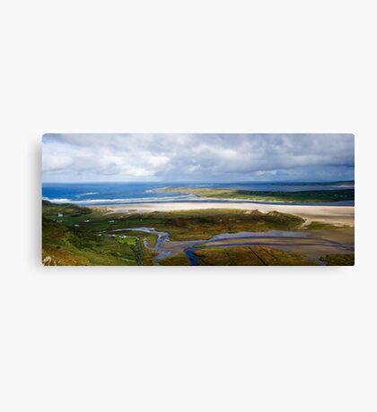 Loughros bay Canvas Print