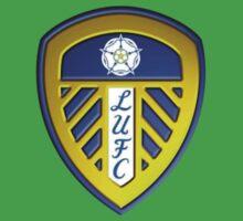 Current Leeds United Badge Kids Clothes
