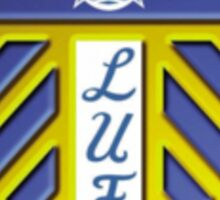 Current Leeds United Badge Sticker