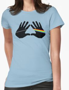 Dark side hands Womens Fitted T-Shirt