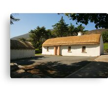 Glencolmcille cottage Canvas Print