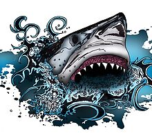 Shark Attack by Adamzworld