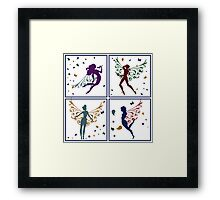 Fairies - rich Framed Print