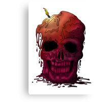 Skull Candle Canvas Print