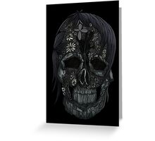 Plant Skull (4) Greeting Card