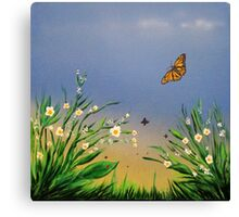 Butterfly Peace Canvas Print