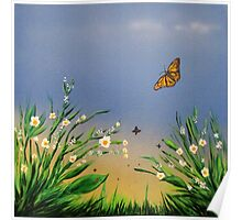 Butterfly Peace Poster